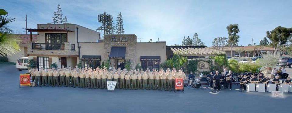 Camp Pendleton Marines on Thanksgiving