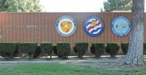 Cerro Villa Junior High School building with school name