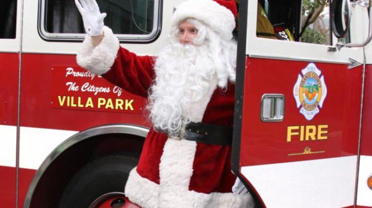 Santa Tour on a Fire Truck 2019