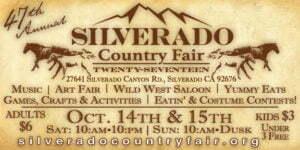 Silverado County Fair poster