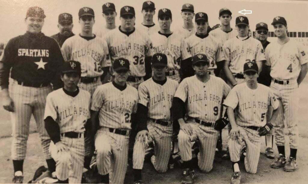 VPHS Spartans Baseball Team Photo