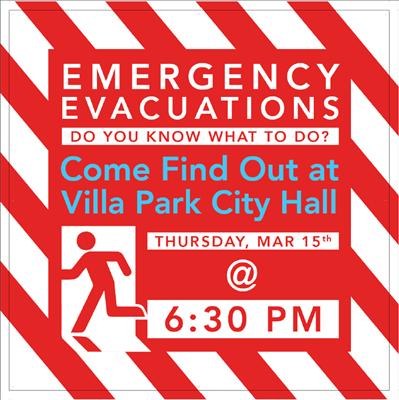 Emergency Evacuations Meeting