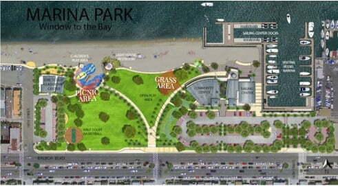 Marina Park Map