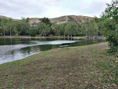 Irvine Regional Park Lake