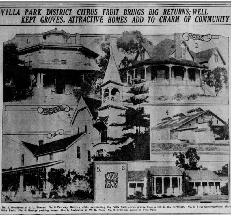 Villa Park 1926