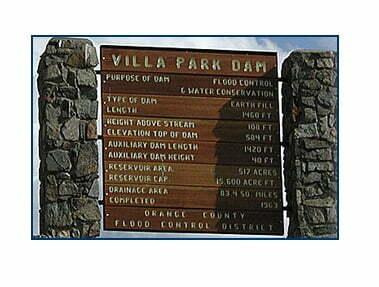Villa Park Dam