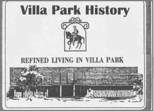 Villa Park History