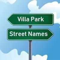 Villa Park Street Names