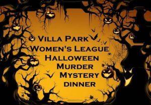 VPWL Halloween Murder Mystery Dinner