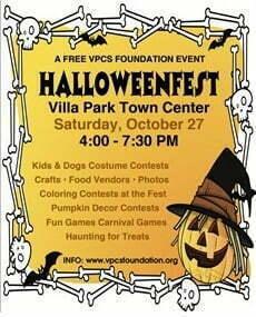 2018 Halloween Fest Villa Park