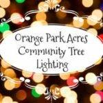 Orange Park Acres Tree Lighting