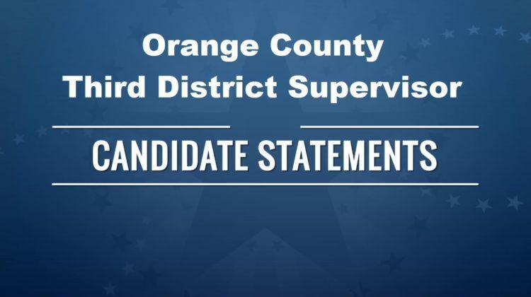 Third District Supervisor Candidate Statements